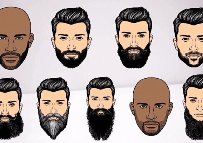انواع ریش های حرفه ای جذاب و جدید مردان و پسران